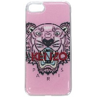 Kenzo Tiger iPhone 8 ケース - ピンク&パープル