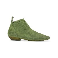 Marsèll pointed ankle boots - グリーン