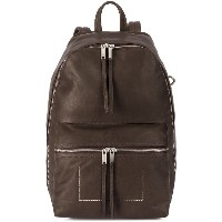 Rick Owens tall backpack - ブラウン