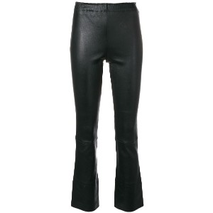 Stouls flared trousers - ブラック