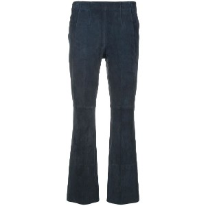 Dorothee Schumacher cropped fitted trousers - ブルー