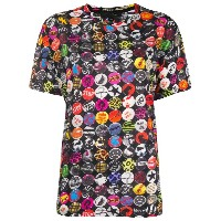 Marc Jacobs graphic printed short sleeve T-shirt - ブラック