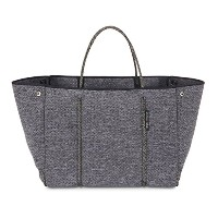 State of Escape ステイト オブ エスケープ ビーチ トートバッグ 大容量 マザーズバッグ (LUXE CHARCOAL MARLE) [並行輸入品]
