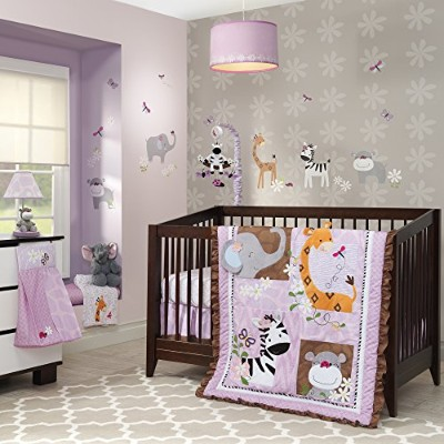 Lambs & Ivy Ladybug Jungle 4 Piece Bedding Set by Lambs & Ivy