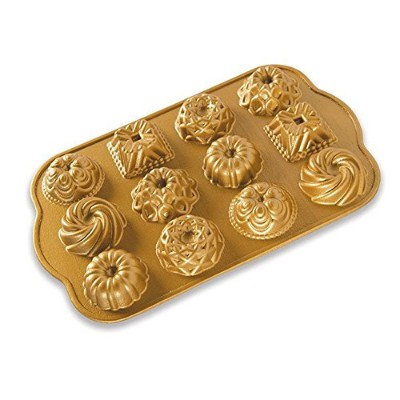 Nordic Ware Nordic Ware Bundt Baking charms/Gold