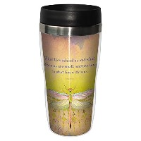 tree-free Greetings 25558Angi and Silas What Lies Behind Sip ' N GoステンレスLined旅行マグ、473ml