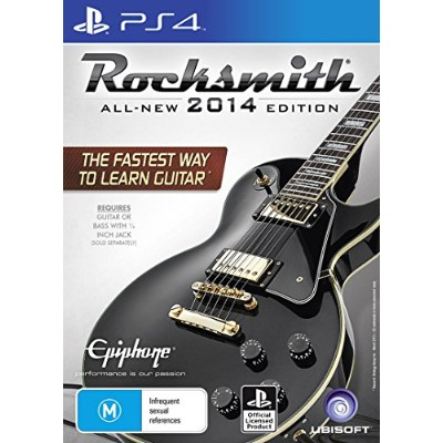 Rocksmith 2014 ( with Real Tone Cable ) - ロックスミス 2014 ( リアルトーンケーブル 同梱版 ) (PS4) (輸入版)