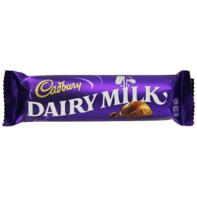 Cadbury Dairy Milk, 45g Bars, (Pack of 12) by Cadbury