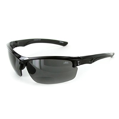Creeksideテつョ Bifocal Sunglasses with Wrap-Around Sport Design and High-Quality Polarized Lenses for...