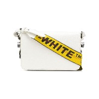 Off-White mini Binder Clip bag - ホワイト