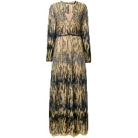 M Missoni embroidered maxi dress - メタリック