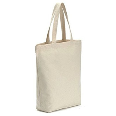 Vivoice Grocery Tote Bag with Zipper–Reusable Grocery Bagキャンバスショッピングバッグfor Grocery Shopping学校Offic...