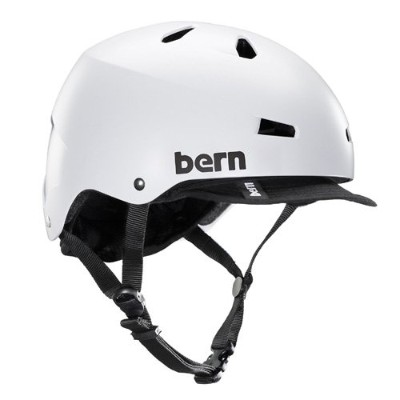 Bern(バーン) MACON VISOR Satin White XL:59-60.5