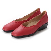 【SALE 30%OFF】ドクター ショール Dr.Scholl Scholl Comfort Square Switch Pumps (Red) レディース