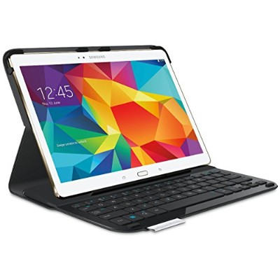 Logitech Type-S Thin and Light Protective Keyboard Case for Samsung Galaxy Tab S 10.5 (920-006401) ...