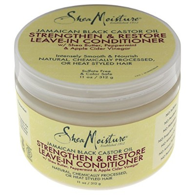 (330ml) - Shea Moisture Jamaican Black Conditioner Leave-In 330ml Jar