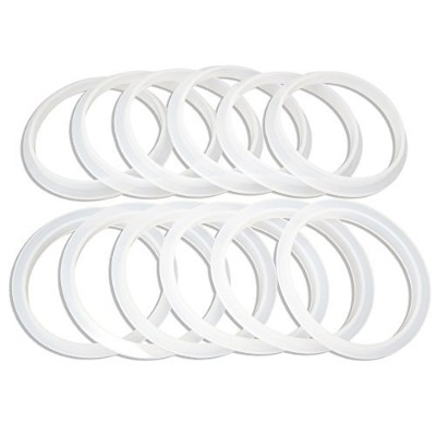 Reusable Silicone Seals For Wide Mouth Mason Jars. Gaskets fit Ball, Kerr And All Wide Mouth Mason...
