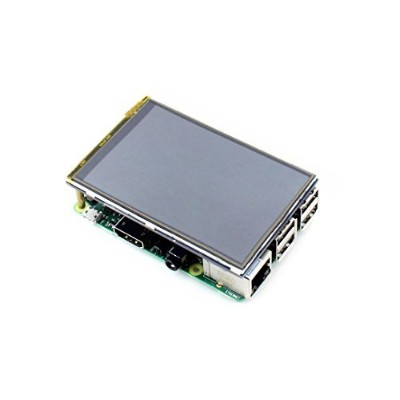 3.5 inch RPI LCD (A)、320 × 480、タッチ画面TFT LCD Designed for Raspberry Pi、任意の改訂のラズベリーPidirectly...