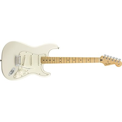 Fender エレキギター Player Stratocaster®, Maple Fingerboard, Polar White