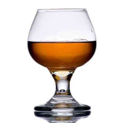 (Pack of 1) - 160ml Brandy Glass Libbey 3702 Embassy Snifter or Cocktail Set of 1 w/Pourer