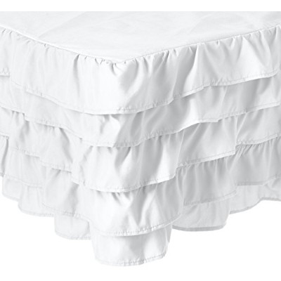 (Twin, White) - Elegant Comfort Luxurious Premium Quality 1500 Thread Count Wrinkle and Fade...