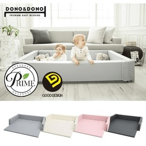 Dono Dono Baby Bumper Bed Mat 3 in 1 Multi Functional Bumper Bed Playmat Baby Sofa