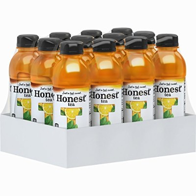 Honest Tea Half and Half, 16.9 Ounce (Pack of 12) by Honest Tea
