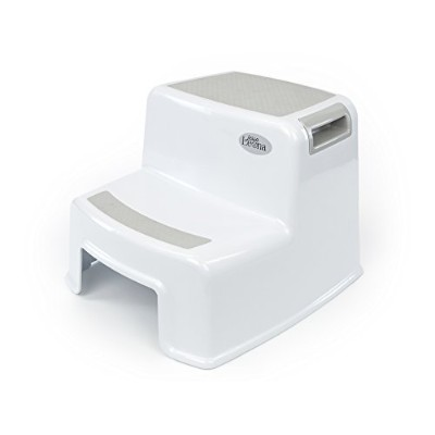 Dual Height Step Stool for Kids | Toddler's Stool for Potty Training and Use in the Bathroom or...