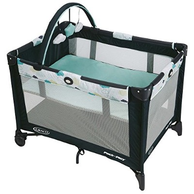 Graco Pack N Play Playard with自動折りたたみフィート