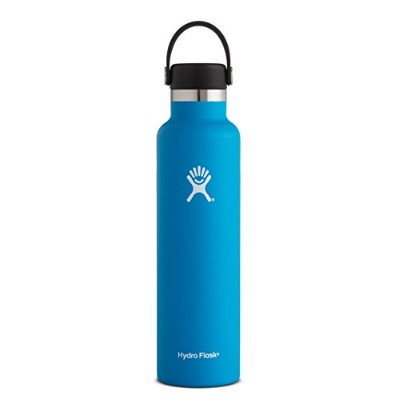 (24 oz (710 ml) Standard Mouth, Pacific) - Hydro Flask Double Wall Vacuum Insulated Stainless Steel...