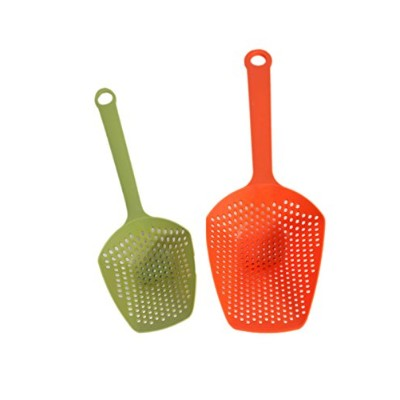 キッチンDiscovery Colander and Strainer Scoops、2ピースセット 1-Pack