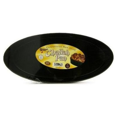 Magic Mill NCCP10 10 in. Oval Challah Pan, Non Stick by Magic Mill