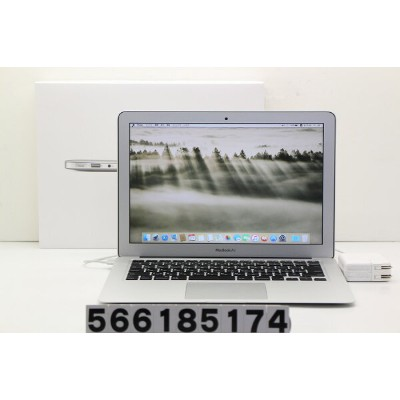 Apple MacBook Air A1466 Mid 2013 Core i7 4650U 1.7GHz/8GB/256GB(SSD)/13.3W/WXGA+(1440x900) Webカメラ不良...