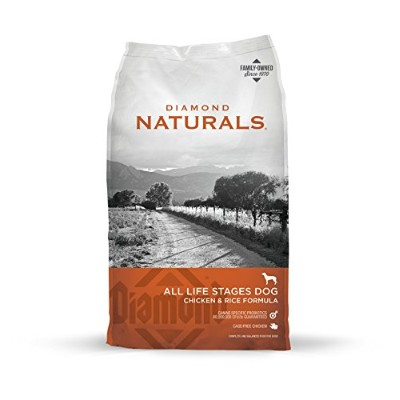 Diamond Naturals Chicken Rice Formula Grain Free Pet Dry Adult Dog Food 40lbs