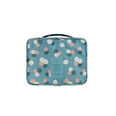 【MONOPOLY 公式】正規品 MONOPOLY PATTERN MULTI POUCH [size M] daisy mint パターンマルチポーチ[size M] 多用度ポーチ 旅行ポーチ...
