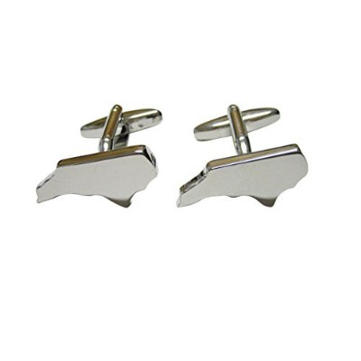North Carolina StateマップShape Cufflinks