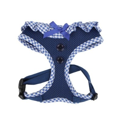 Authentic Puppia Vivien Harness, Royal, Large by Puppia