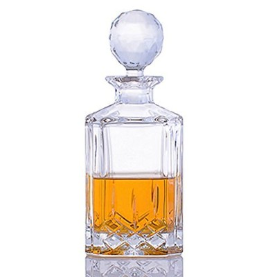 CrystalizeカットクリスタルWhiskey Decanter 1 Piece クリア 41081/13A76/080