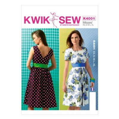 KWIK-SEW PATTERNS K4001OSZ Misses' Dresses and Belt Sewing Template, All Sizes by KWIK-SEW PATTERNS...