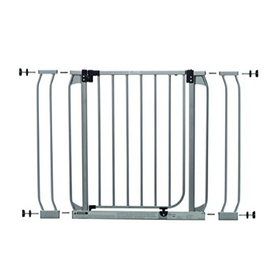 Dream Baby Swing Close Security Gate (with extensions included) - Sliver by Dreambaby