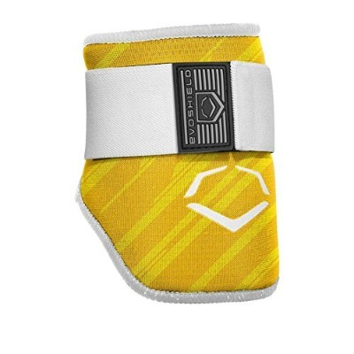 EVOSHIELD MLB BATTERS SPEED STRIPE ELBOW GUARD エルボーガード 肘当て 各色 (2046120) (YELLOW(753)) [並行輸入品]