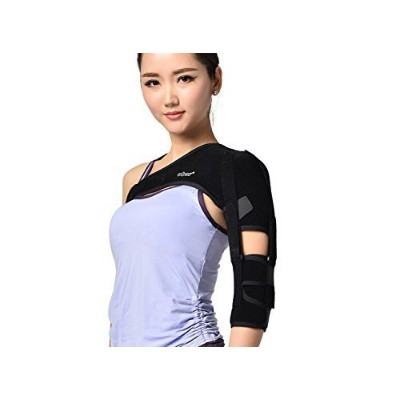 Shoulder Brace Support Arm Sling for Stroke Hemiplegia Subluxation Recovery, Left Shoulder by...