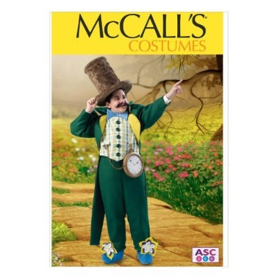 McCall Pattern Company M6815 Boys'/Girls' Mayor Costume Sewing Template, Size CH (7-8-10) by McCall...