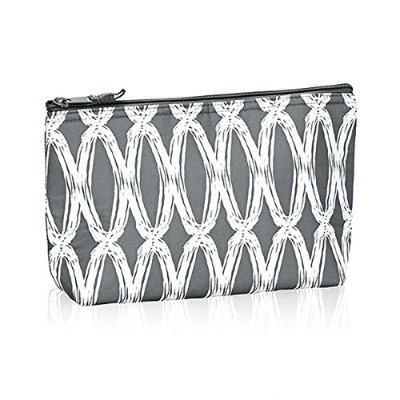 Thirty One Medium Thermal Zipper Pouch inチャコールリンク–Noモノグラム–4363