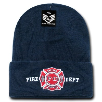 Rapid Dominance R81-FD Military And Law Long Beanies, Fire Dept, Navy