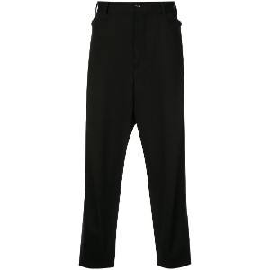 Y's tapered trousers - ブラック