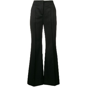 Dorothee Schumacher classic flared trousers - ブラック