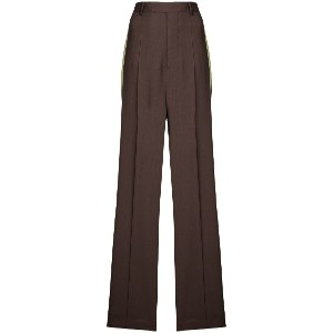 Rick Owens wide leg tailored trousers - ブラウン