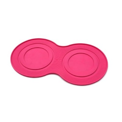 PetProjekt DMP102 Large Dog Bowl Mat, Pink
