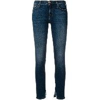 7 For All Mankind ダメージ スキニージーンズ - ブルー